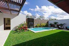 Backyard Pool Landscaping, Backyard Pool Designs, Small Backyard Pools, Swimming Pools Backyard, Pools For Small Yards, Pool Landscape Design, Small Pool Design, Model House Plan, Dream Pools