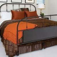 rustic industrial modern king bed - Google Search