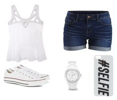 """""""📸📷📱"""" by mary2003 ❤ liked on Polyvore featuring Olive + Oak, VILA, Converse, FOSSIL and Skinnydip"""