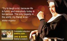 #ThursdayThought #MotherAngelica #EWTN #Catholic