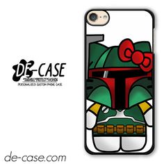 Boba Fett Hello Kitty Star Wars DEAL-2012 Apple Phonecase Cover For Ipod Touch 6