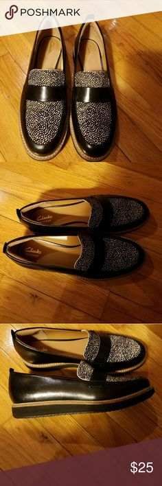 Clarks Artisan Loafers - Size 8.5....GREAT PRICE Worn maybe a couple times. Clarks Shoes Flats & Loafers