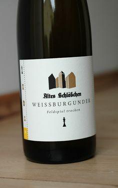Weissburgunder vom Weingut Altes Schlösschen in der Pfalz. #Wein #Pfalz #Burgunder