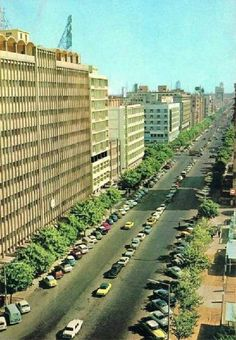 A Avenida da República (actual 25 de Setembro) em Lourenço Marques, anos 60.