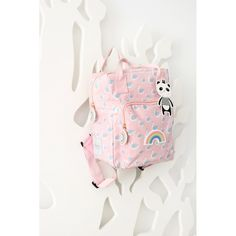 Perlin Paon Paon Back To School, Backpacks, Bags, Pink, Totes, Accessories, Swan, Swans, Kawaii