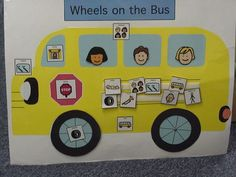 For Regina's Room, Make a LArge Bus, With PECS that go with each part of the song, each kid can put on a new part as we sing. Can do it lots of preschool songs! Speech Language Therapy, Speech Therapy Activities, Language Activities, Speech And Language, Music Activities, Speech Pathology, Autism Classroom, Special Education Classroom, Autism Education