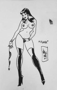 Jordi Bernet, Cool Art, Nice Art, Vinyl Wall Decals, Pin Up, Drawings, Human Figures, Figurative, Cartoons