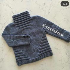 No photo description. Cardigan Bebe, Baby Boy Cardigan, Knitted Baby Cardigan, Knit Baby Sweaters, Boys Sweaters, Baby Boy Knitting Patterns, Baby Cardigan Knitting Pattern, Knitting For Kids, Baby Patterns
