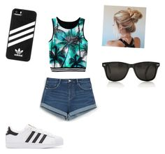 """""""Hanging with the Besties"""" by eleni7506 ❤ liked on Polyvore featuring Zara, adidas Originals and adidas"""