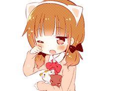 Cute Anime Friends Tumblr | anime kawaii sweet manga anime girl animated GIF