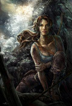 Tomb Raider by yangtianli - The Art of Tomb Raider  <3 <3