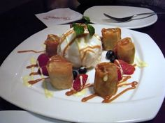 Banana Spring Rolls - Copycat PF Changs Recipes | Recipe ...