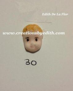 Baby face-#30 silicone mold