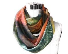 space inspired scarf