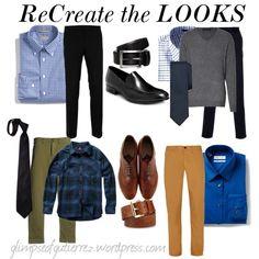 men's wear, business casual