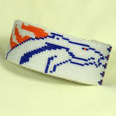 Bronco Beaded Bracelet White