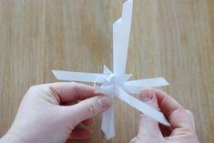 Fröbelstern mit 3D-Zacken selber falten