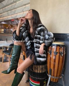 Chinchilla Fur Coat, Fashion, Fur, Moda, Fashion Styles, Fashion Illustrations