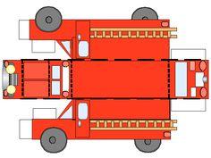 papercraft brandweer - Google zoeken