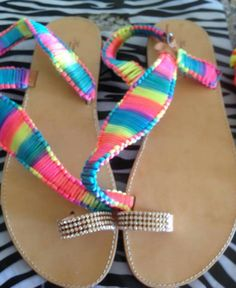 Handmade real leather sandals!