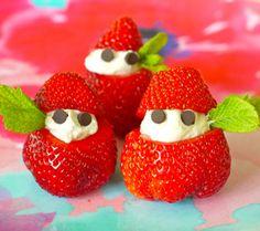 and Cream - Weelicious food, . and cream - Weelicious Strawberry Recipes, Fruit Recipes, Desert Recipes, Baby Food Recipes, Healthy Recipes, Healthy Food, Kid Recipes, Healthy Kids, Scone Recipes