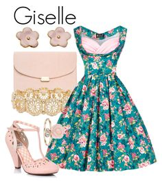 """""""Giselle"""" by prettyfashionist on Polyvore featuring M&Co and LC Lauren Conrad"""