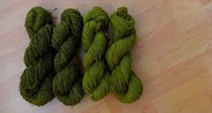 Seidenraupe - Handarbeitsblog sheeps wool coloured with red onionskin
