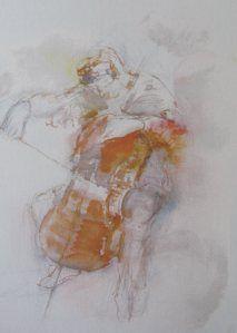 cello speler, Ad Kroese