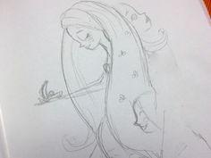 Mermaid initial explortion  by Ciara Panacchia