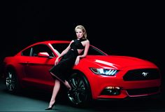 Sexy British Actress Sienna Miller 'Revs Up' The 2015 Ford #Mustang Campaign! Hit the pic to see the steamy #viralvideo!