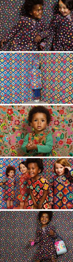 Studio ToutPetit: Wee Walls Wednesdays * Fall-Winter 2012 Collection by Oilily Fashion Kids, African Fashion, African Babies, African Children, Fashion Background, Kid Styles, Little People, Kids Wear, Children Photography