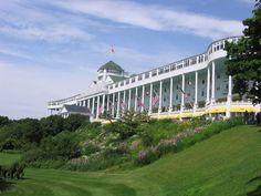 Mackinac Island, MI - The Grand Hotel