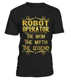 Robot Operator - Mom  #tshirts #tshirtdesign #tshirtteespring #tshirtprinting #tshirtfashion