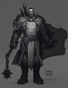 View an image titled 'Crusader Male Art' in our Diablo III art gallery featuring official character designs, concept art, and promo pictures. Game Character Design, Character Concept, Character Art, Concept Art, Fantasy Male, Fantasy Armor, Armadura Medieval, Pathfinder Rpg, Character Design