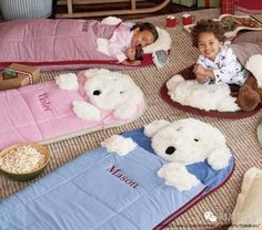 Shop kids sleeping bags and naps mats at Pottery Barn Kids. Find comfy sleeping bags for girls and boys that will be perfect for their next overnight trip or sleepover. Kids Nap Mats, Baby Nap Mats, Pottery Barn Kids, Toddler Sleeping Bag, Sleeping Dogs, Quilt Baby, Sewing For Kids, Baby Sewing, Baby Pillows