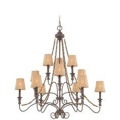 Craftmade Brands - Jeremiah Lighting - 27512-SI - 12 Light Chandelier