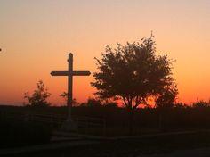 Knickerbocker, Texas at sunrise