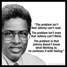 THOMAS SOWELL: Our schools are teaching children what to think, but not how. Artificial Stupidity.
