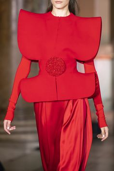 Stéphane Rolland at Couture Fall 2019 - Details Runway Photos Fashion Themes, All Fashion, Fashion Details, Vintage Fashion, Womens Fashion, Stephane Rolland, Style Couture, Couture Fashion, Couture Details