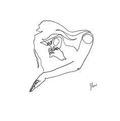 Art Sketches, Art Drawings, Pencil Art, Erotic Art, Line Drawing, Love Art, Illustration Art, Artsy, Instagram
