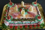Visit the post for more. Greek Sweets, Birthday Cake, Desserts, Food, Tailgate Desserts, Deserts, Birthday Cakes, Essen, Postres