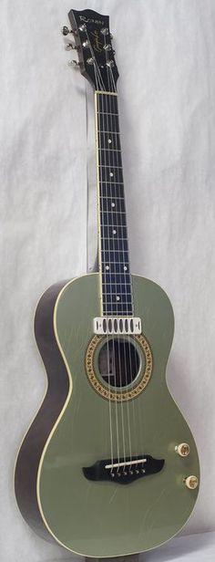 Image result for pinecrest green guitar