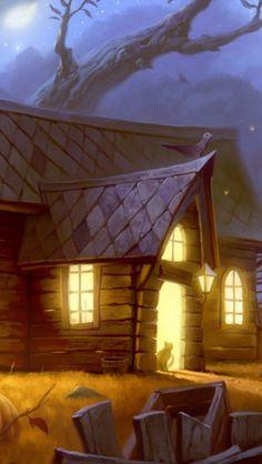 Halloween-Home-Light-Cat-
