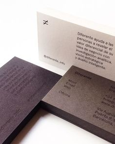 New business cards. Letterpress printed on 3 different recycled papers. Letterpress: @trasteria Paper: @arjocreatives