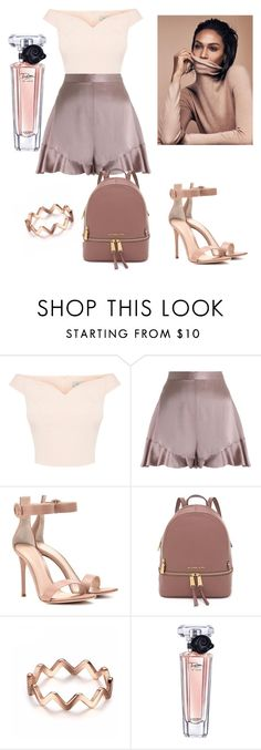 """""""Untitled #218"""" by anjola112 on Polyvore featuring Zimmermann, Gianvito Rossi and Lancôme"""