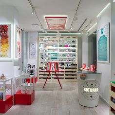 Most colourful pharmacy moves away from the crowd - Retail Design World
