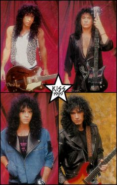 kiss 1989 (Hot in the Shade foto session) - kiss foto - fanpop Hair Metal Bands, 80s Hair Bands, Paul Stanley, Gene Simmons, Kizz Band, Eric Singer, Kiss Without Makeup, Kiss Group, Kiss World