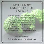 Learn more about bergamot essential oil including safety tips Essential Oil Safety, Are Essential Oils Safe, Young Living Essential Oils, Essential Oil Blends, Citrus Bergamot, Oil Benefits, Health Remedies, Home Remedies, Health