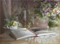 Poetry With a Daisy Flowers HD Desktop Wallpaper Still Life 2, Still Life Photos, Arte Floral, Hd Desktop, Still Life Photography, Flower Art, Daisy Flowers, Art Flowers, Daisies