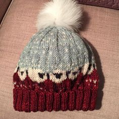 Baa-ble Hat by Donna Smith http://www.ravelry.com/patterns/library/baa-ble-hat